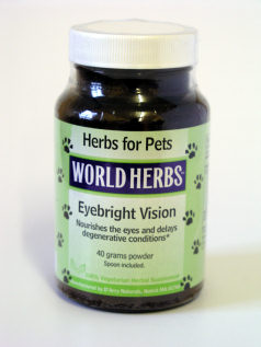 Dog and cats ear, nose, eyes and throat herbs