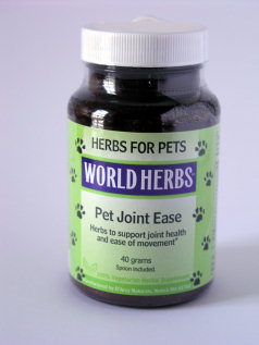 Dog and Cat Herbs for the Joints