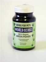 Green Power for dogs and cats