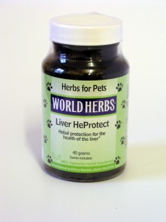 Liver Heprotect for dogs and cats